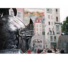 Quebec City, Home Of The One-Knight Stand Photographic Print