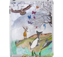 Where earth meets the sky iPad Case/Skin