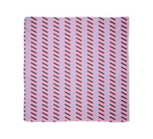 Black and Blue Chevron on Hot Pink Scarf