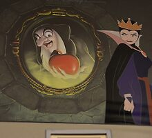 Disney Snow White Evil Queen Disney Villain Snow White 7 Dwarfs by notheothereye
