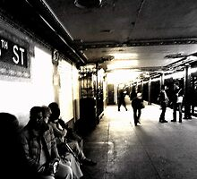 Subway by Mojca Savicki