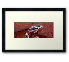Drive Safe © Vicki Ferrari Framed Print