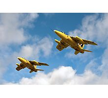 1964 Yellowjacks -  The Forerunners of the Red Arrows Photographic Print