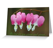 My love for you grows and grows... Greeting Card