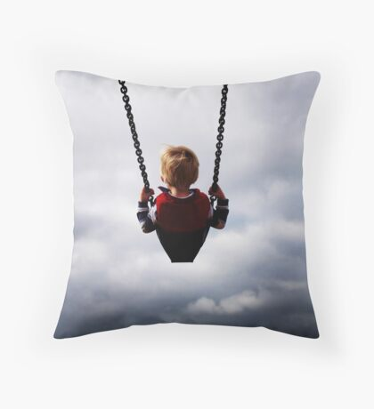 TOUCHING HEAVEN Throw Pillow