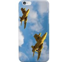 1964 Yellowjacks -  The Forerunners of the Red Arrows iPhone Case/Skin