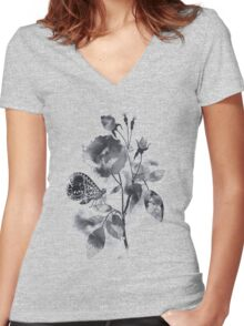 Inked Women's Fitted V-Neck T-Shirt