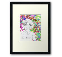Skyler Fish Girl Framed Print
