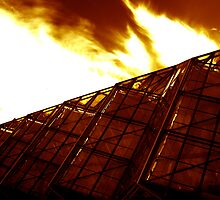 Redhouse - A burning passion for the gardens by lightsmith