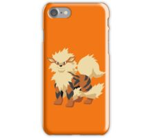 Arcanine Pokemon Simple No Borders iPhone Case/Skin