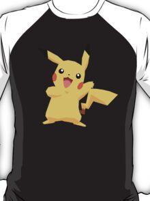 Pikachu Pokemon Simple No Borders T-Shirt