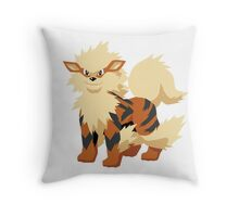 Arcanine Pokemon Simple No Borders Throw Pillow