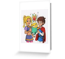 'What a Fine Heart Mite!' Greeting Card