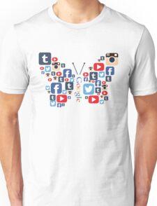 Social Butterfly Unisex T-Shirt