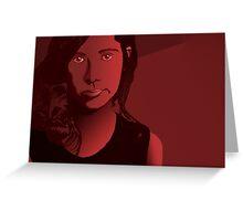 PJ Harvey Greeting Card