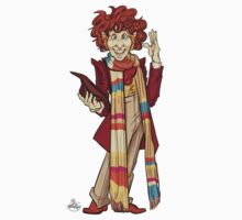 The Fourth Doctor [Who] Kids Clothes