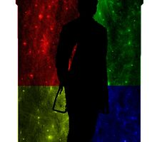 Hogwarts TARDIS with 12th Doctor Silhouette by shaneisadragon