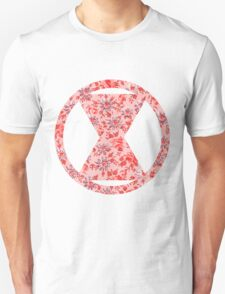 Black Widow Floral T-Shirt