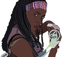 Michonne  by AutisticMom