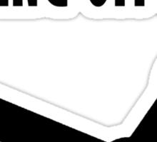 BLOWING OFF SOME STEAM Sticker