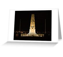 Cenotaph at Kings Park Greeting Card