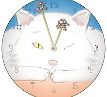 Cat And Mouse: Lost clock art re-designed by Syd Baker