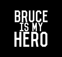 Bruce Is My Hero by Zachary Williams