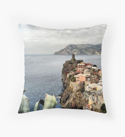 Vernazza II Throw Pillow