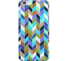 Geo pattern_blues iPhone Case/Skin