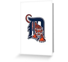 Detroit Tigers  Greeting Card