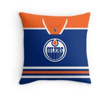 Edmonton Oilers Home Jersey Throw Pillow/Tote Bag Throw Pillow