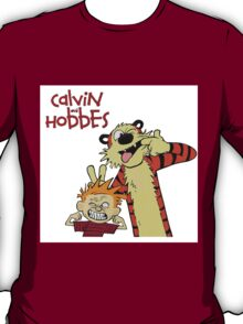 Calvin and hobbes Nope Face T-Shirt