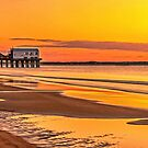 Pier at Sunrise by PhotosByHealy