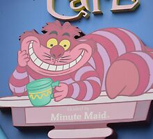Disney Cheshire Cat Cup Of Tea Alice In Wonderland Villain by notheothereye
