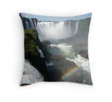 Iguazu Falls, Argentina Throw Pillow