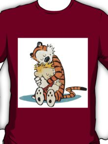 Calvi and hobbes Hugs T-Shirt
