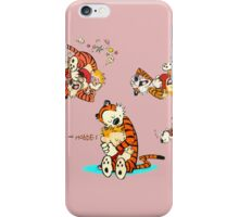 Calvin and Hobbes all Lovly iPhone Case/Skin