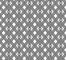 Diamond pattern  by mizu2k