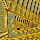 Yellow Stairway by Joe Thill