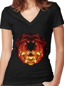Insect Inferno Women's Fitted V-Neck T-Shirt