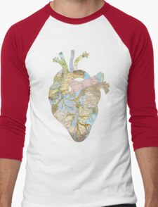 A Traveler's Heart (N.T.) Men's Baseball ¾ T-Shirt