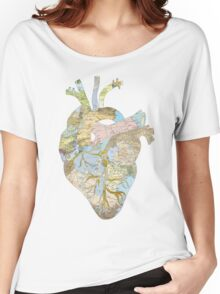 A Traveler's Heart (N.T.) Women's Relaxed Fit T-Shirt