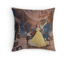 Disney Beauty and the Beast Characters Disney Belle Princesses Throw Pillow