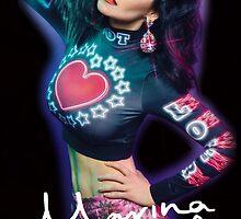 Marina And The Diamonds Black by SYTIDelRey