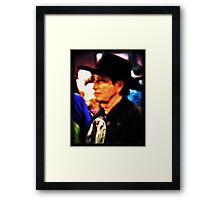 """Mysterious Stranger in Town""... prints and products Framed Print"