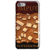 Computer Professional iPhone Case/Skin