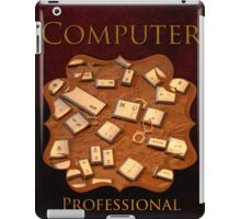 Computer Professional iPad Case/Skin