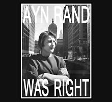 Ayn Rand Was Right Tank Top