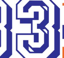 Mets - Harvey #33 Sticker