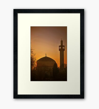 London Central Mosque Framed Print